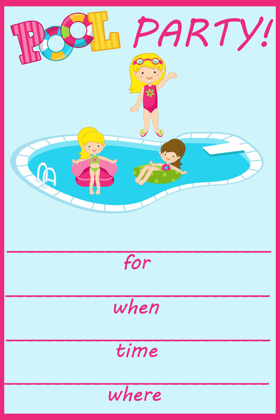 invitation for birthday pool party ; pool-party-birthday-invites-birthday-pool-party-invitations-birthday-pool-party-invitations