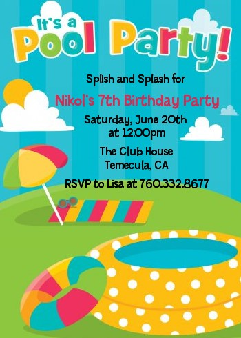 invitation for birthday pool party ; pool_party_birthday_invitation