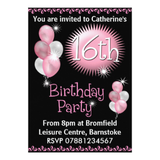 invitation ideas for 16th birthday party ; 16th-birthday-party-invitations-to-enrich-your-creativity-in-creating-your-own-terrific-Party-invitations-12