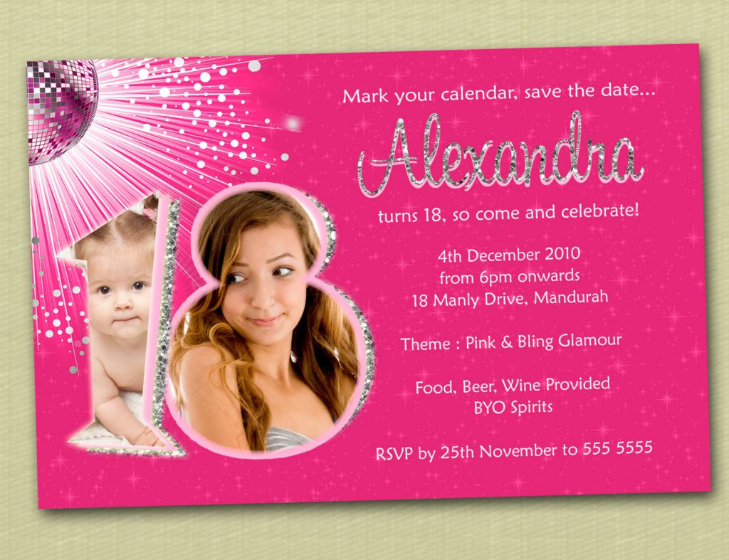 invitation letter for birthday debut ; 18th-birthday-invitation-templates-free