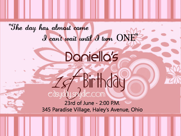 invitation letter for birthday debut ; 1st-birthday-invitation-wording-easyday-debut-invitations-wordings