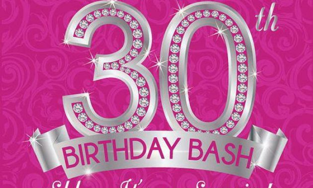 invitation templates for 30th birthday party ; 30th-Birthday-Party-Invitations-For-Her-630x380