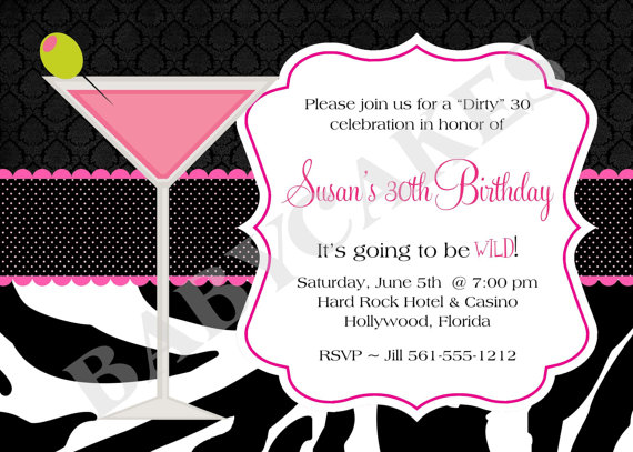 invitation templates for 30th birthday party ; 30th-birthday-invitations-free-templates-1
