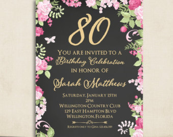 invitation to 80th birthday party free template ; 80th-birthday-invitations-for-your-extraordinary-Birthday-Invitation-Templates-associated-with-beautiful-sight-using-a-decorative-design-18