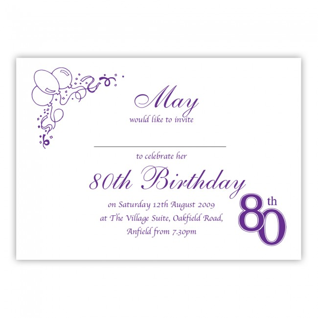 invitation to 80th birthday party free template ; Terrific-80Th-Birthday-Party-Invitations-To-Design-Free-Printable-Birthday-Invitations