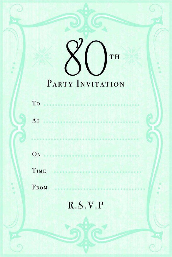 invitation to 80th birthday party free template ; invitation-templates-birthday-26-80th-birthday-invitation-templates-free-sample-example