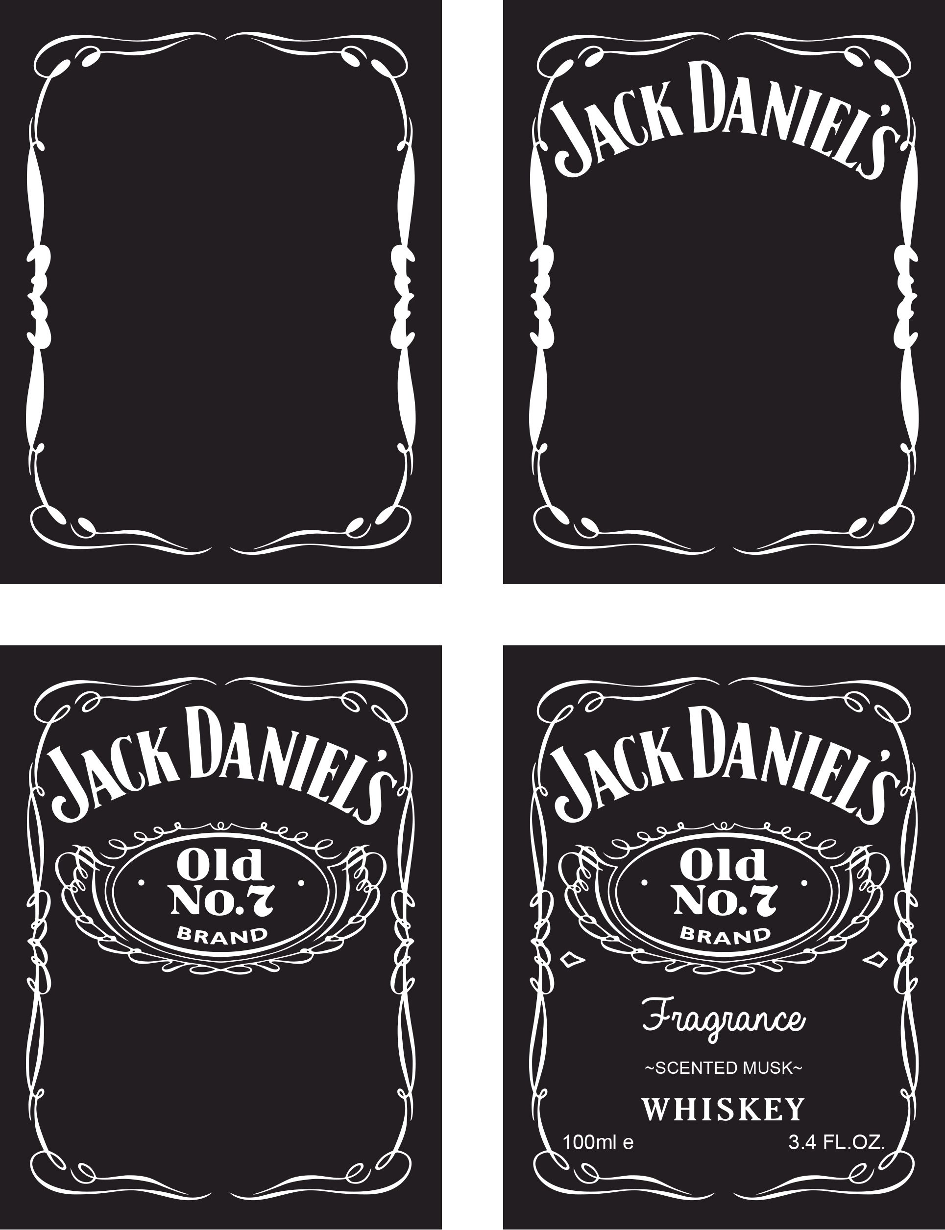 jack daniels birthday invitation template free ; great-label-template-maker-ideas-entry-level-resume-templates-throughout-jack-daniels-label-template