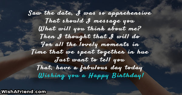 just wanted to wish you a happy birthday ; 24664-birthday-messages-for-ex-boyfriend