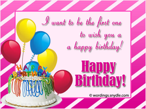 just wanted to wish you a happy birthday ; advance-birthday-wishes