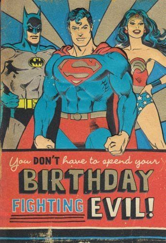 justice league birthday card ; 689a56e7aa5cd968669322eb21b40e42