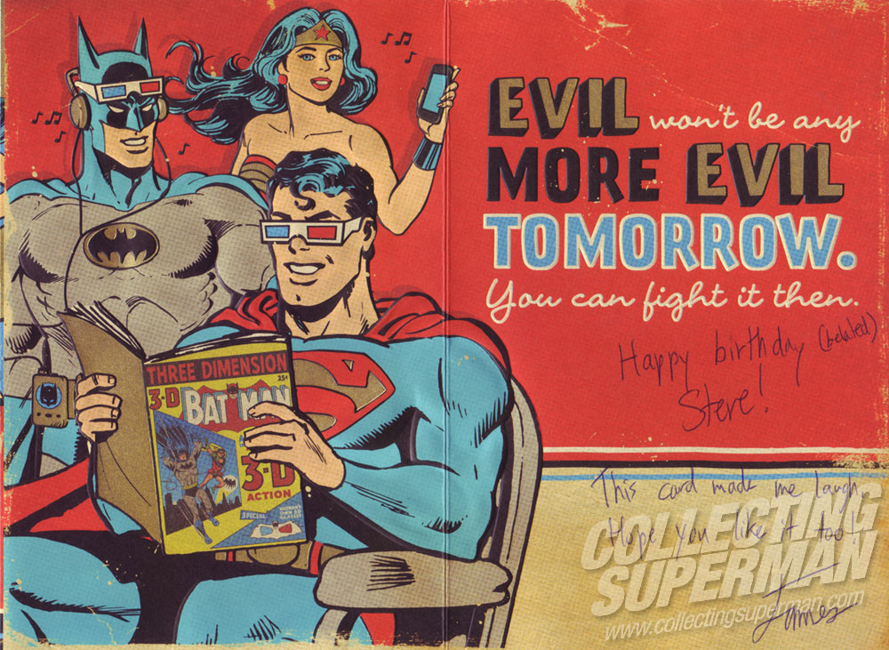 justice league birthday card ; Superman-2014-Birthday-Card-inside