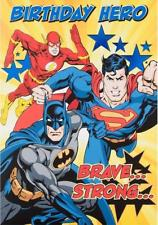 justice league birthday card ; s-l225