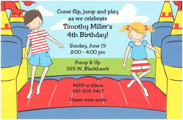 kids birthday invitation text ; kids-birthday-party-invitations-wording-4