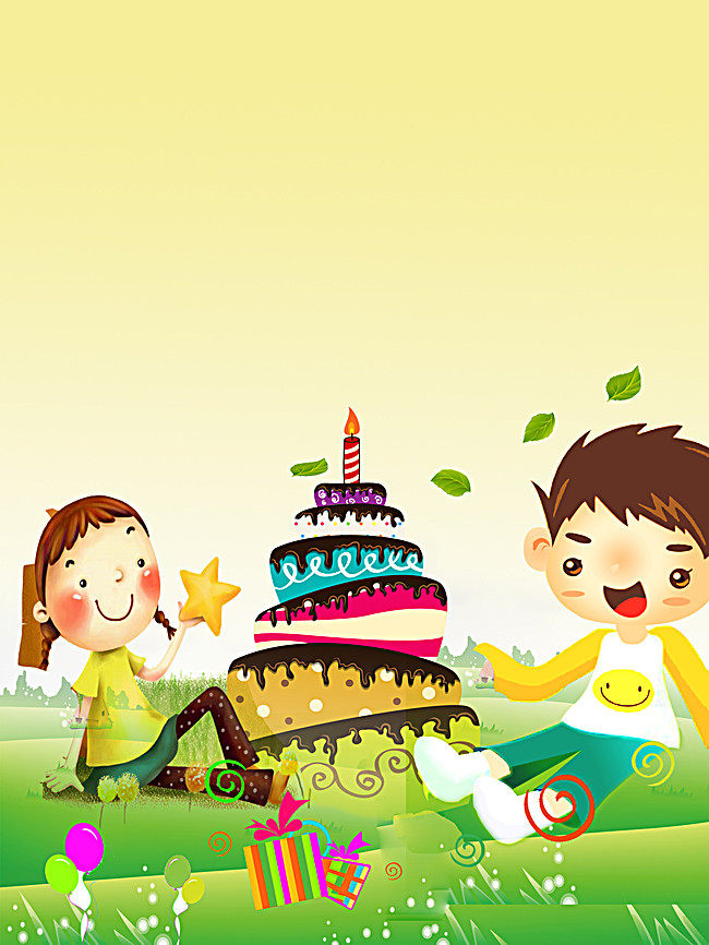 kids birthday poster ; 5157e63ee7db4b3