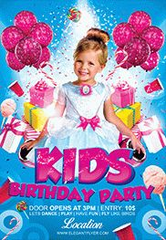 kids birthday poster ; Smallpreview_kids_birthday_party-flyer-psd-template-facebook-cover