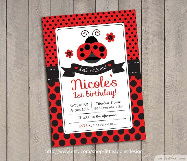 ladybug birthday card template ; ladybug-birthday-invitations-by-means-of-creating-exceptional-outlooks-around-your-Birthday-Invitation-Templates-17