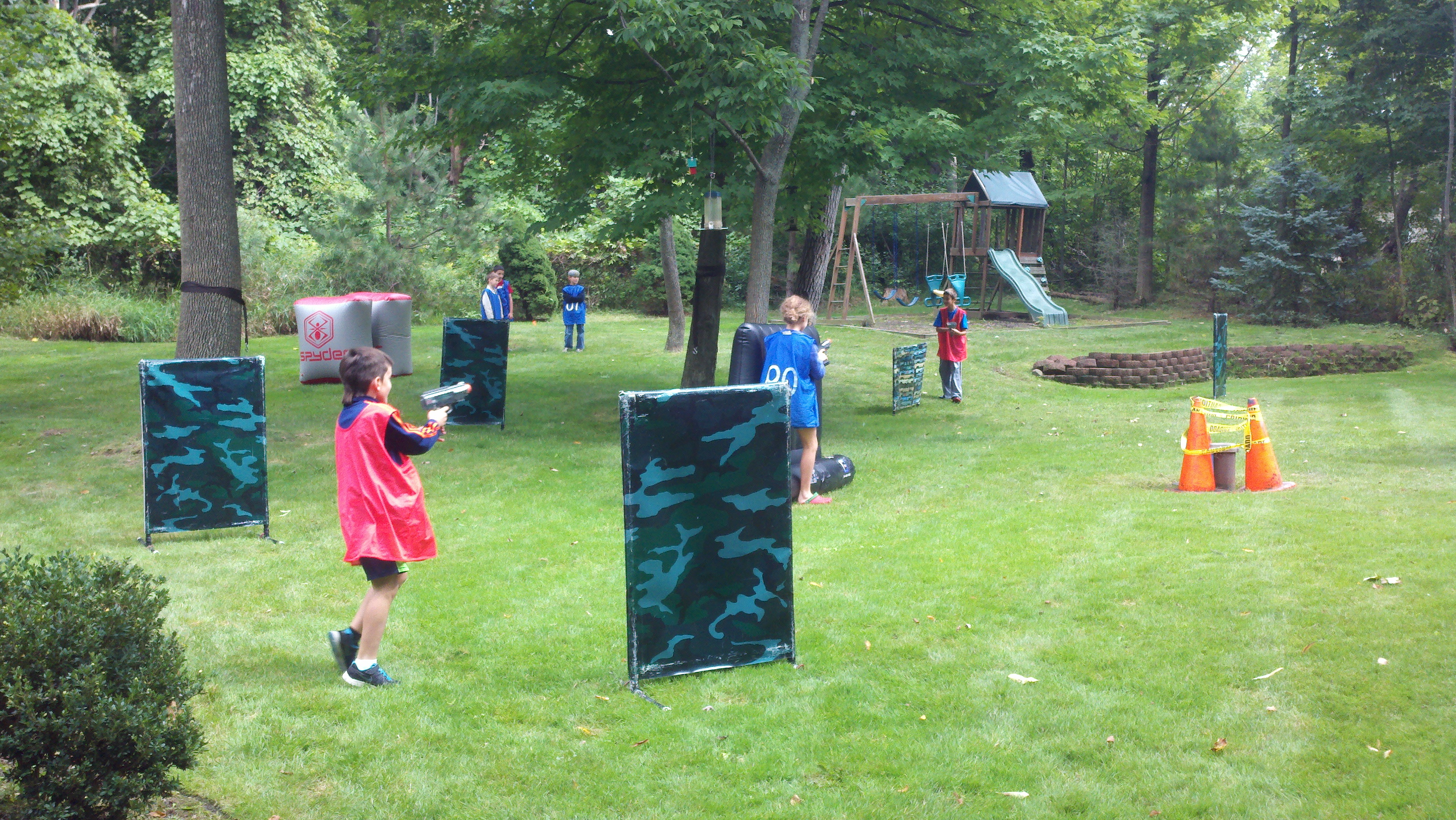 laser tag birthday party at home ; 2014-09-14_14-18-06_726