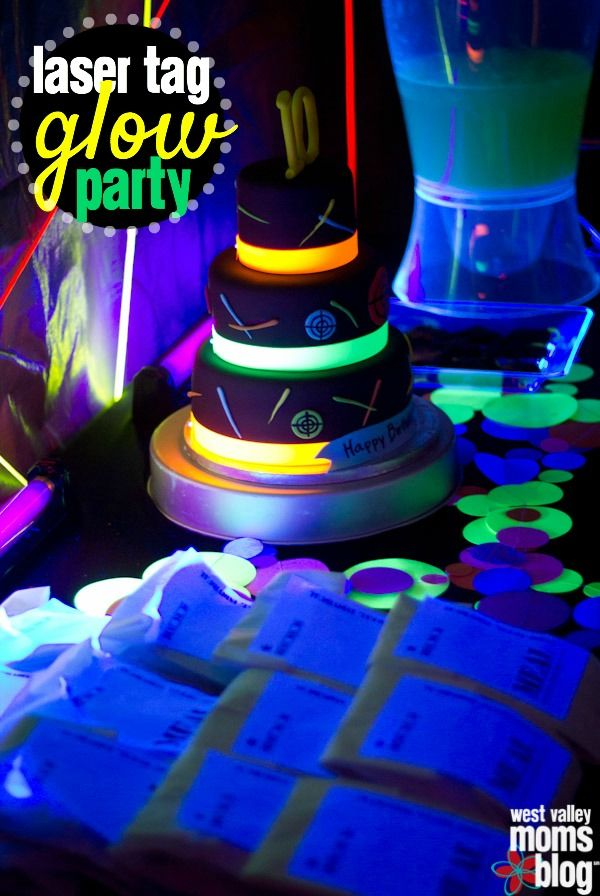 laser tag birthday party at home ; b783bf60fb842e69771fa9c94556494d