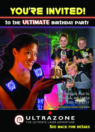 laser tag maryland birthday party ; ultrazone-laser-tag-offers