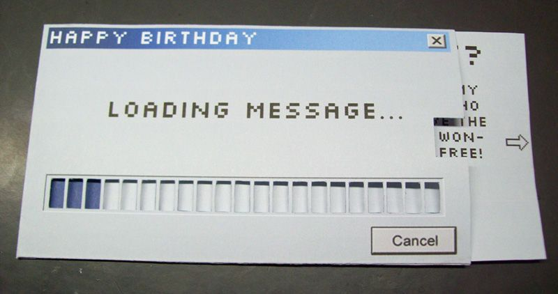 loading birthday card ; 63c58f08913b64453d48491601f0bec0