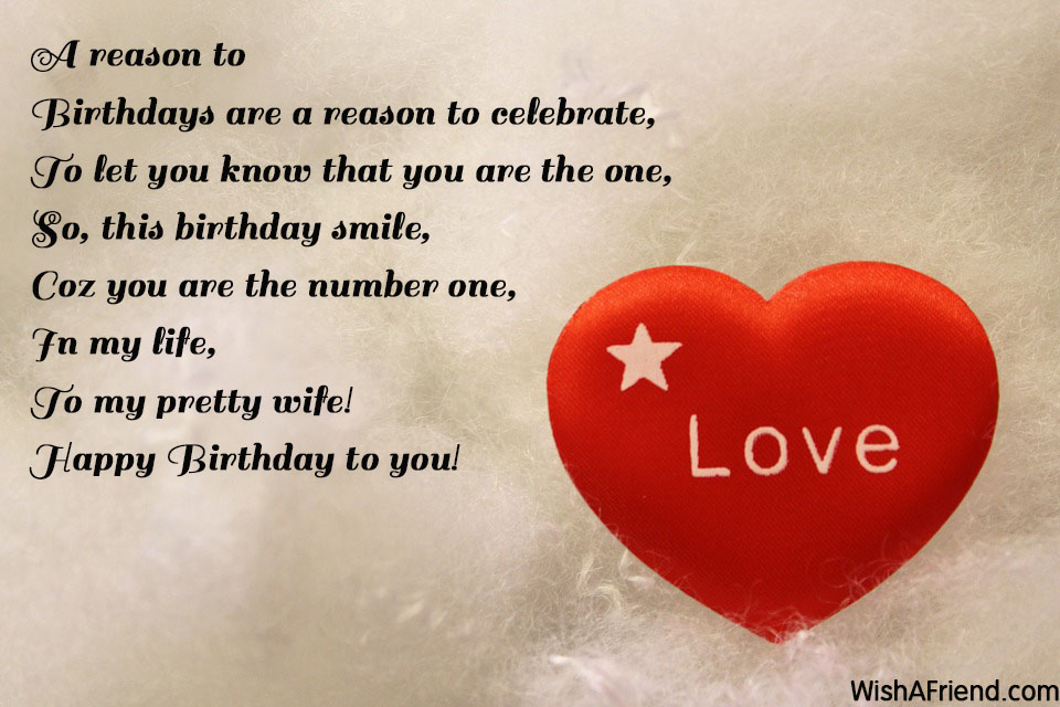 love poem to my wife on her birthday ; 9455-wife-birthday-poems