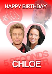 luke hemmings birthday card ; s-l300-1