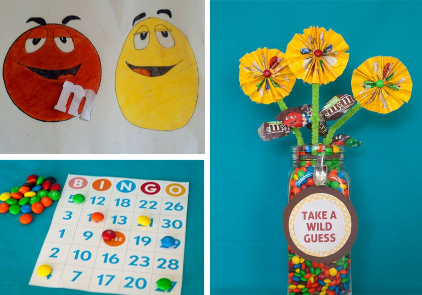 m&m birthday card ; caa11f81daf631ba77b56daa720524fa