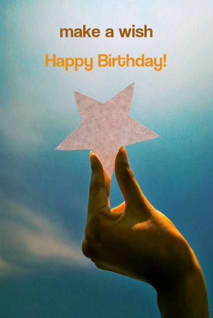 make a wish birthday quote ; 2abbf4e778229dc3110859cc80f30dc3--paper-stars-birthday-cards