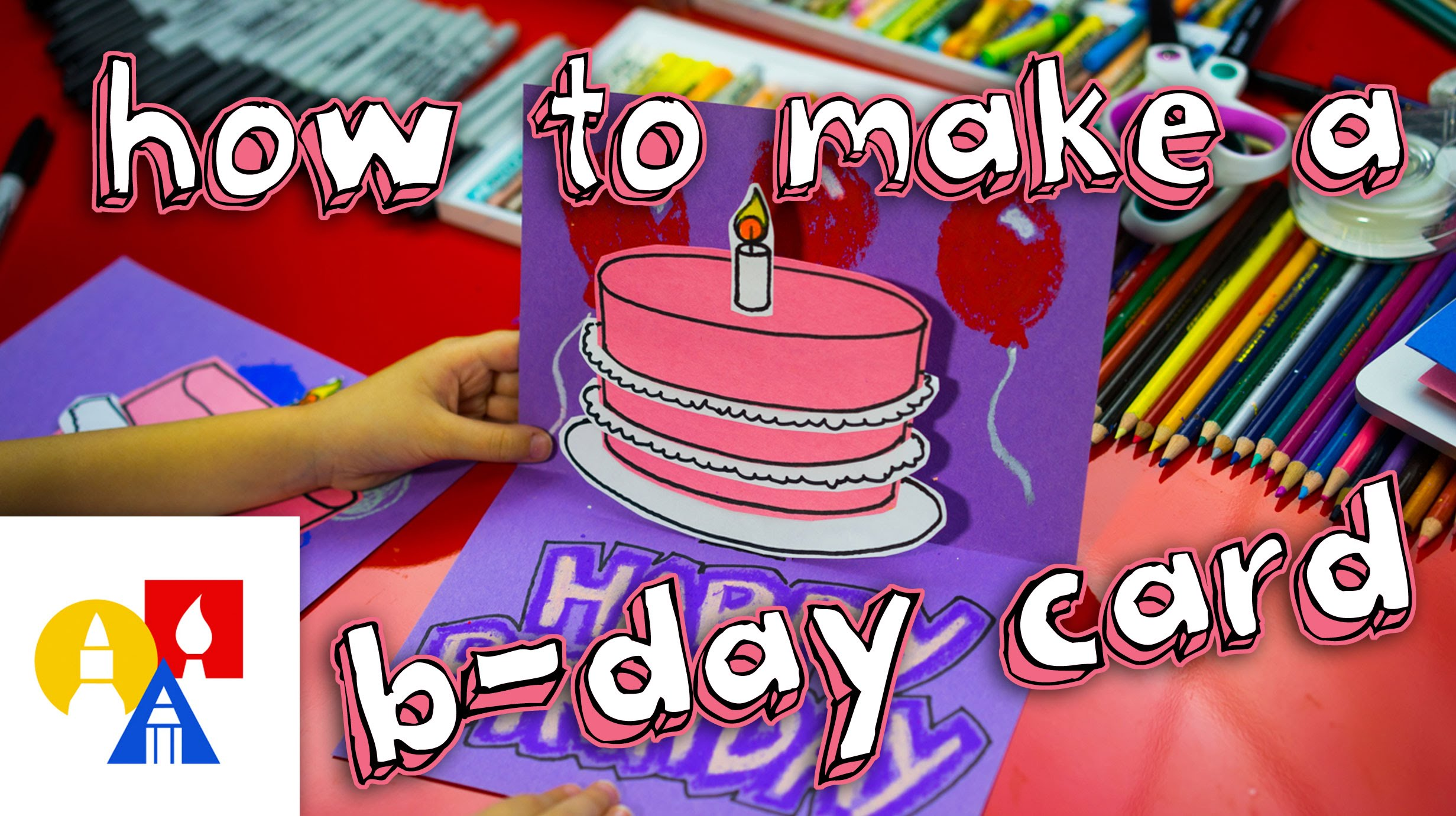 make my birthday card ; maxresdefault