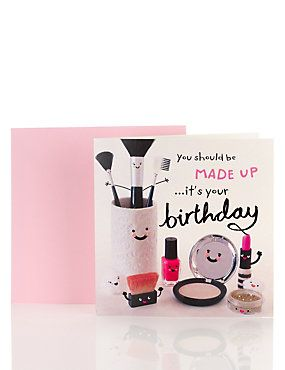 makeup birthday card ; 38612d23ef8ee4db872aec5056d3968a