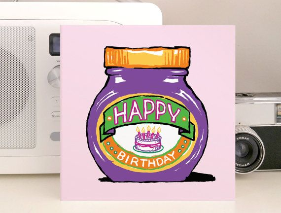 marmite birthday card ; 1d32ae5e44b22fe5000cc3cc236cdc5a--marmite-fun-cards
