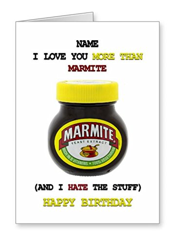 marmite birthday card ; 41Wr9qwfEFL