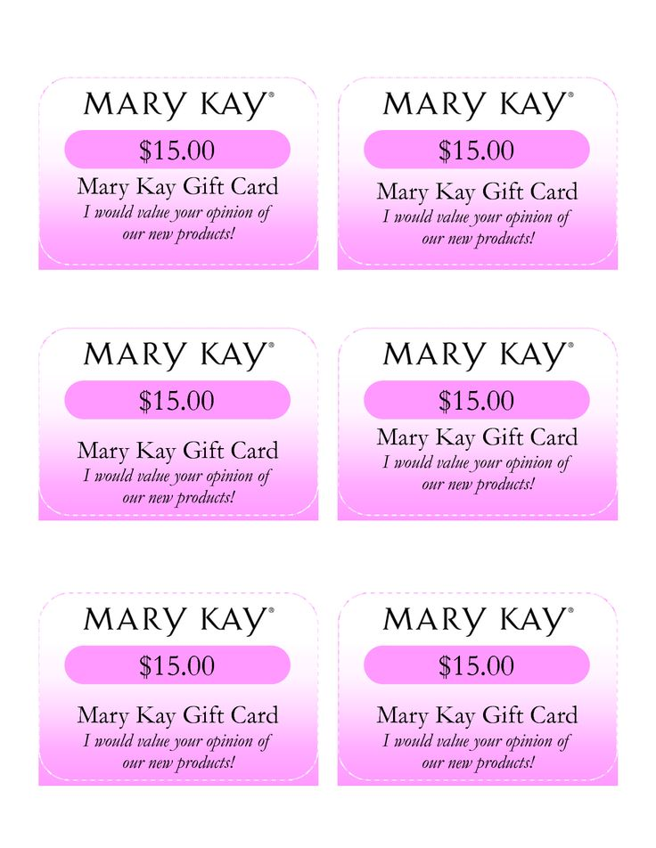 mary kay birthday card ; mary-kay-gift-certificate-template_166184