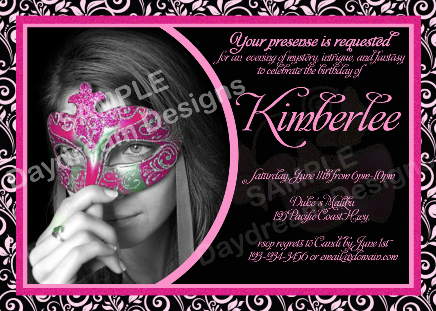 masquerade birthday party invitation wording ; masquerade-party-invitation-wording-is-the-fusion-of-concept-and-creativity-on-fair-Party-invitations-17