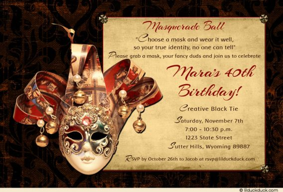 masquerade birthday party invitation wording ; masquerade-party-invitation-wording-to-bring-more-colors-on-your-easy-on-the-eye-Party-invitations-13-568x387