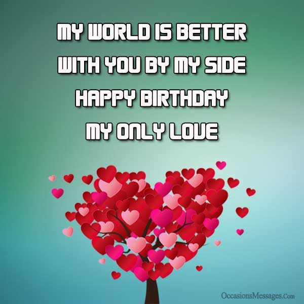 message of happy birthday to my love ; Happy-birthday-wishes-for-you-my-love