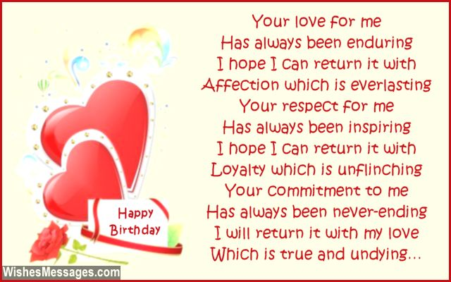 message of happy birthday to my love ; Sweet-happy-birthday-poem-to-wife-from-husband