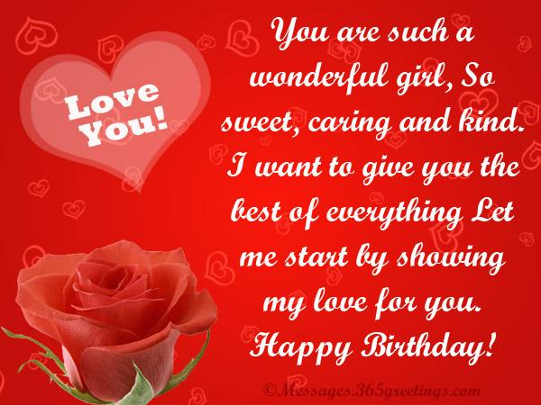 message of happy birthday to my love ; sweet-romantic-love-birthday-messages