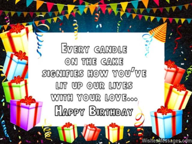 message to husband on his birthday ; Cute-birthday-greeting-message-husband-wife-candles-on-cake-640x480