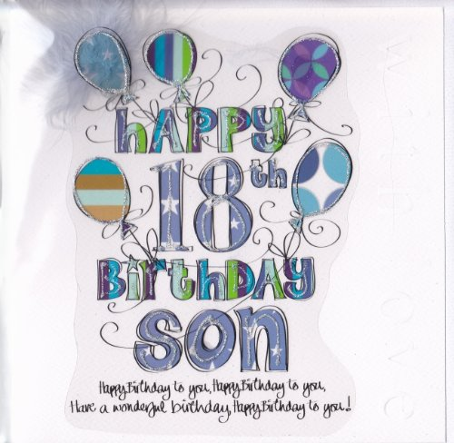 message to son on 18th birthday ; 51XwWuK5agL