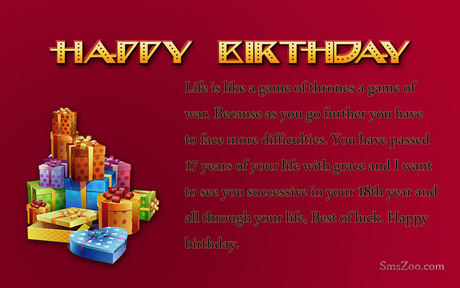 message to son on 18th birthday ; Happy-Birthday-Gifts-Wallpaper