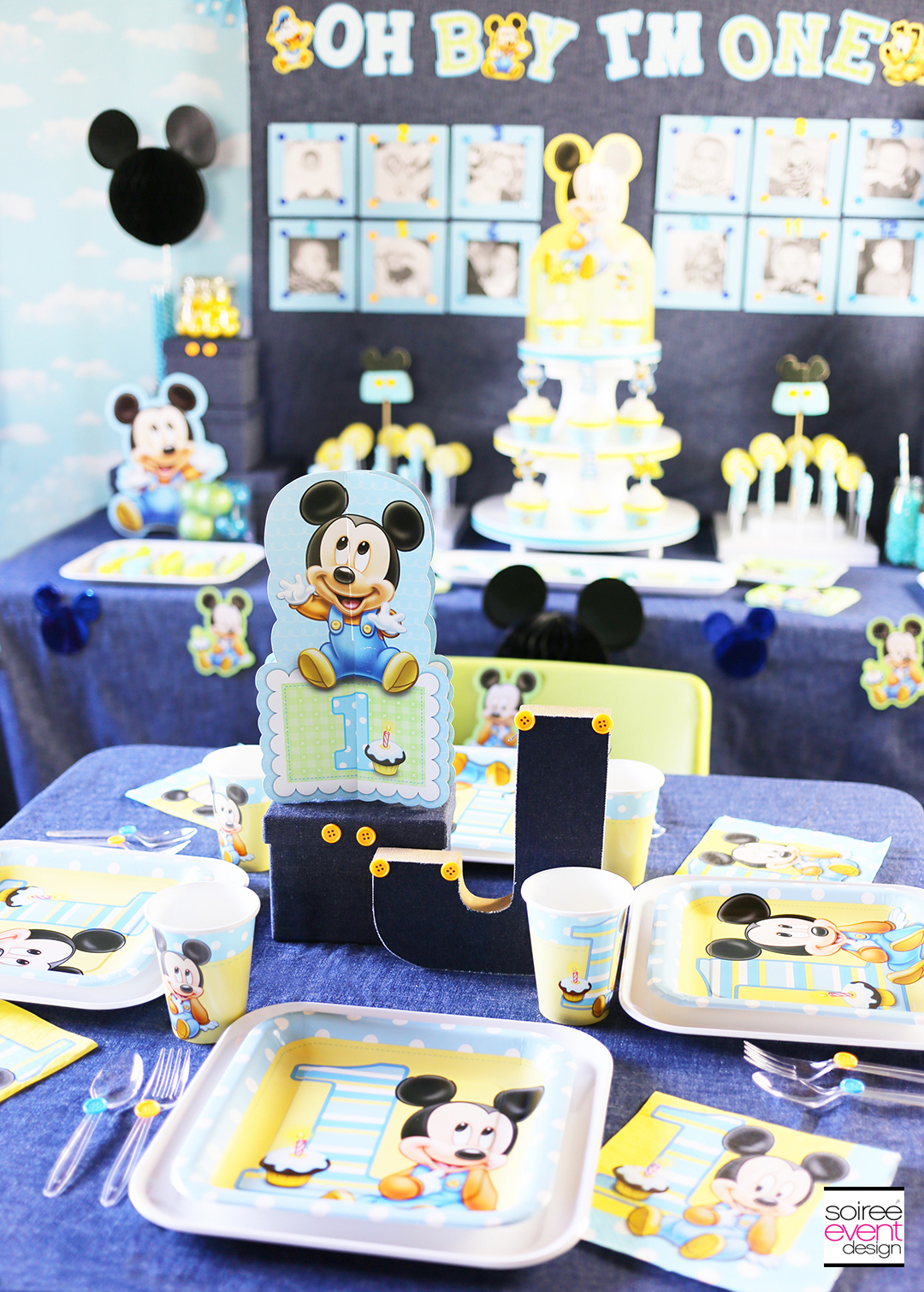 mickey mouse first birthday picture ideas ; Mickey-Mouse-1st-Birthday-Party-Ideas