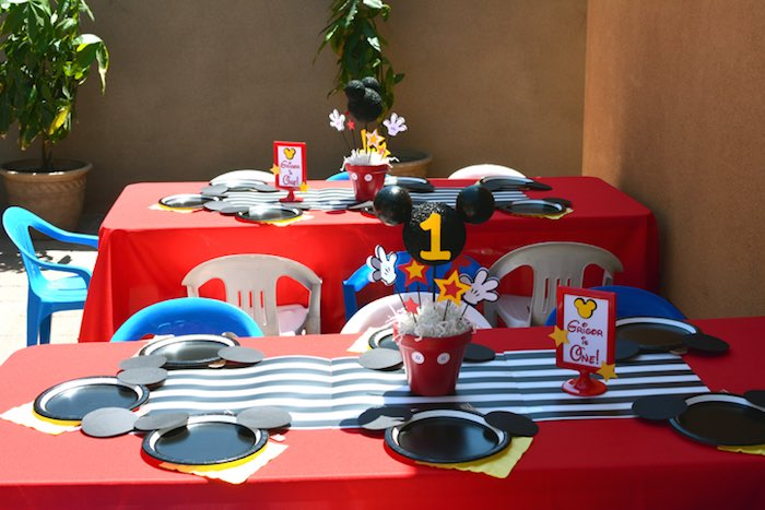 mickey mouse first birthday picture ideas ; Mickey-Mouse-1st-Birthday-Party-via-Karas-Party-Ideas-KarasPartyIdeas-1