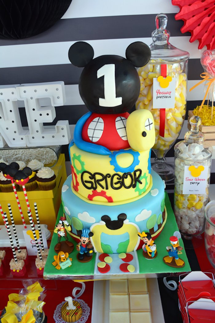 mickey mouse first birthday picture ideas ; Mickey-Mouse-1st-Birthday-Party-via-Karas-Party-Ideas-KarasPartyIdeas-2