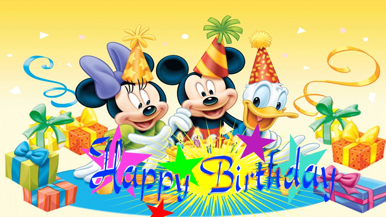 mickey mouse happy birthday images ; maxresdefault-2