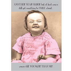 midget happy birthday card ; 52807
