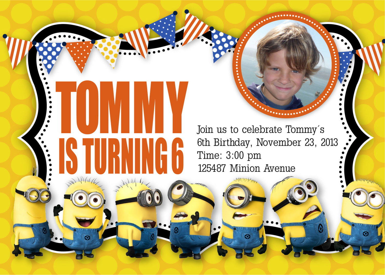minion birthday invitation wording ; minion-birthday-invitations-together-with-a-picturesque-view-of-your-Birthday-Invitation-Templates-using-fascinating-invitations-7