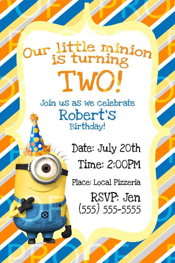 minion birthday invitation wording ; minion-birthday-party-invitations-by-existing-some-surprising-ornaments-on-your-Birthday-Invitation-Template-40