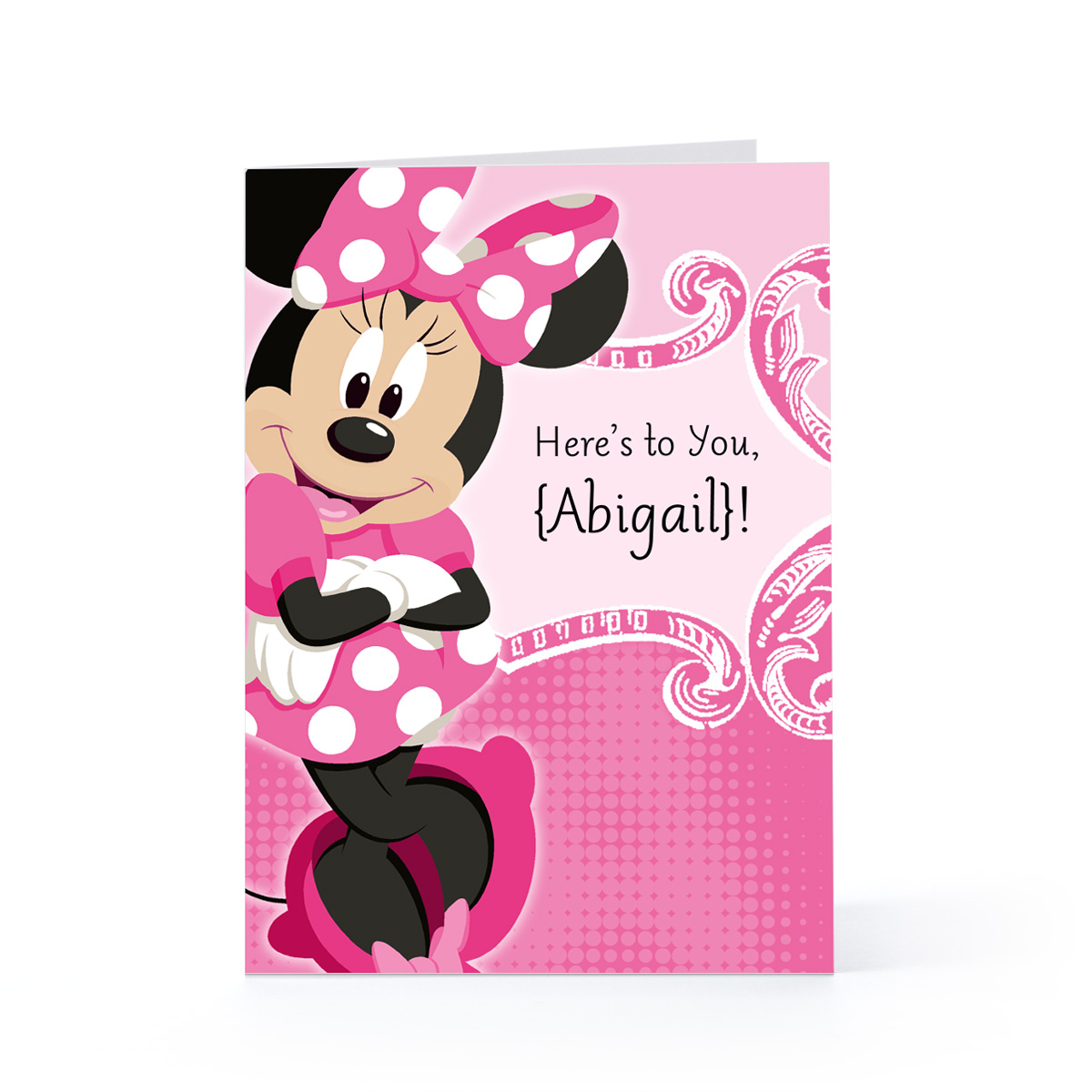 minnie mouse 2nd birthday card ; Minnie-Mouse-Birthday-Cards-1