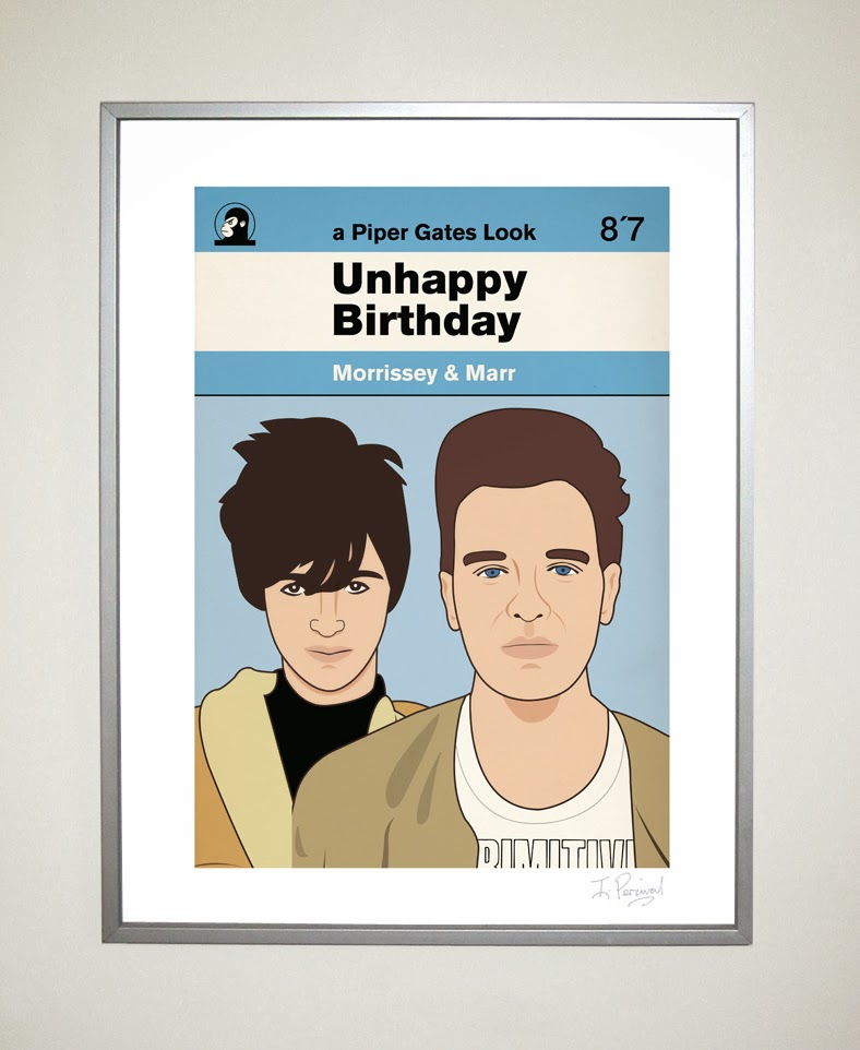 morrissey birthday card ; morrissey%2520unhappy%2520birthday%2520card%2520;%2520Morrissey+Poster+Framed